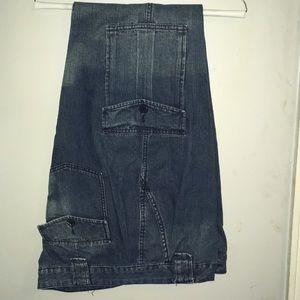 Calvin Klein Jeans straight leg cargo pockets jean